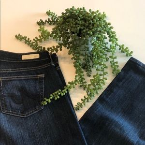 AG JEANS The Tomboy Relaxed Straight Denim Jeans